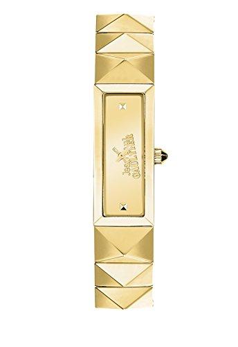 Zeigt Damen Jean Paul Gaultier Mini Punk PVD Gold 33 13 5 mm 8504002