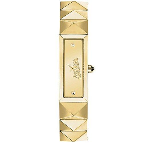 Zeigt Johannes Paul Gaultier Stahl Gold Damen 33 x 13 5 mm