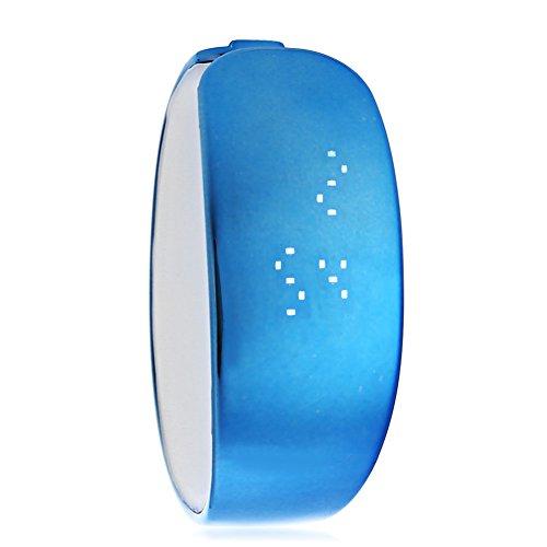 Leopard Shop SKMEI 1160 Unisex LED Digital Armband Uhr Armbanduhr Wasser Widerstand blau