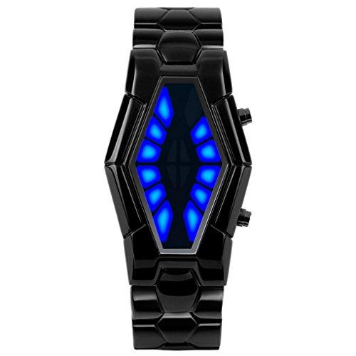 SKMEI Jungen Herren Besonders LED LED Watch Zinklegierung Zifferblatt 50 30 11mm Schwarz