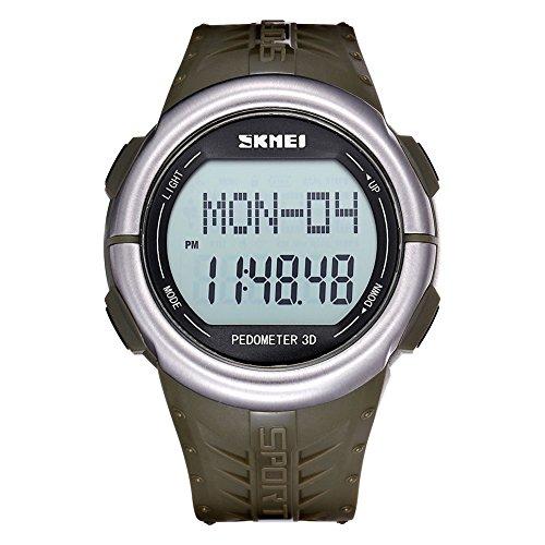 skmei m nner frauen unisex oh 3d pulsmesser digitale uhren 370205