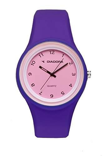 Diadora Unisex-Armbanduhr Analog Quarz Silikon DI-013-01