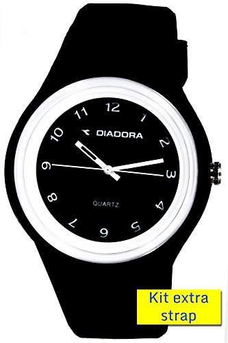 Diadora Unisex-Armbanduhr Analog Quarz Silikon DI-013-04