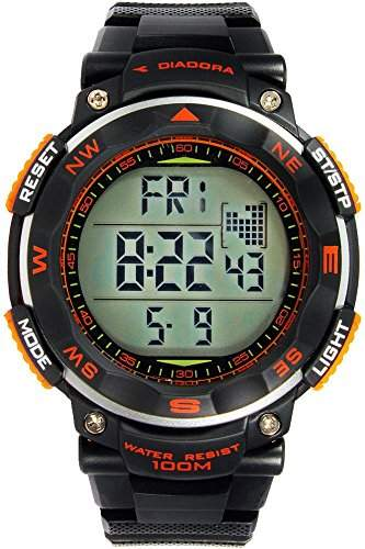 Diadora Trekky fuer Maenner -Armbanduhr Digital Quartz DI-014-01
