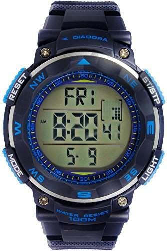 Diadora Trekky fuer Maenner -Armbanduhr Digital Quartz DI-014-02