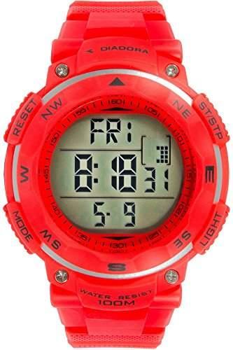 Diadora Herren-Armbanduhr Digital Quarz Plastik DI-014-04