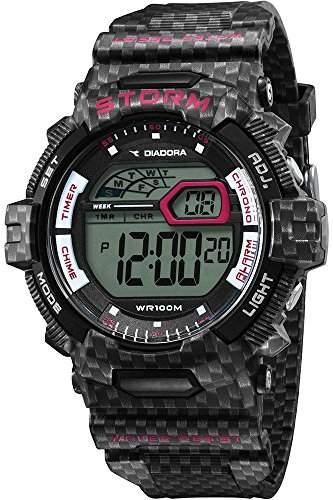Diadora Herren-Armbanduhr Digital Quarz Plastik DI-016-01