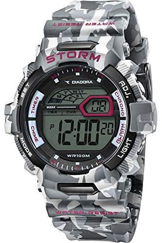 Diadora Herren-Armbanduhr Digital Quarz Plastik DI-016-02