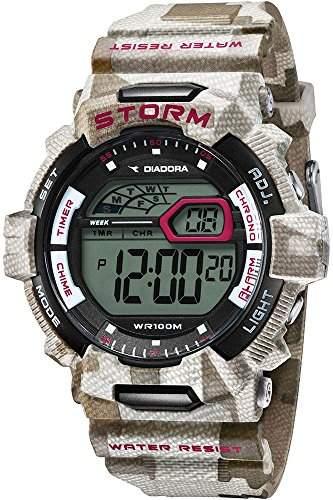 Diadora Herren-Armbanduhr Digital Quarz Plastik DI-016-03