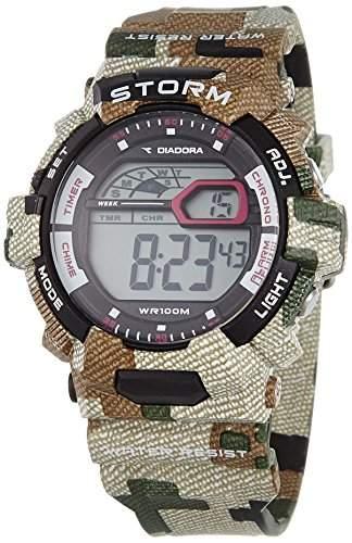 Diadora Herren-Armbanduhr Digital Quarz Plastik DI-016-04