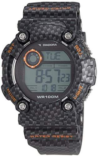 Diadora Herren-Armbanduhr Digital Quarz Plastik DI-017-01