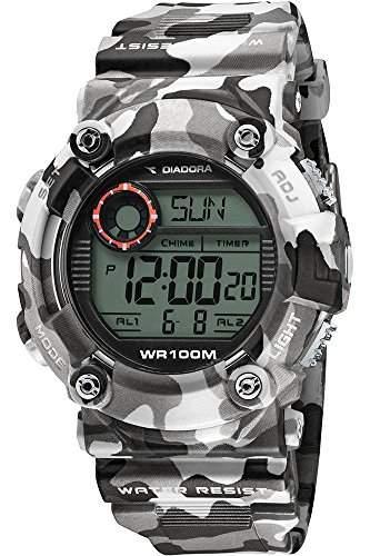 Diadora Herren-Armbanduhr Digital Quarz Plastik DI-017-02