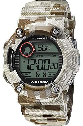 Diadora Herren-Armbanduhr Digital Quarz Plastik DI-017-03
