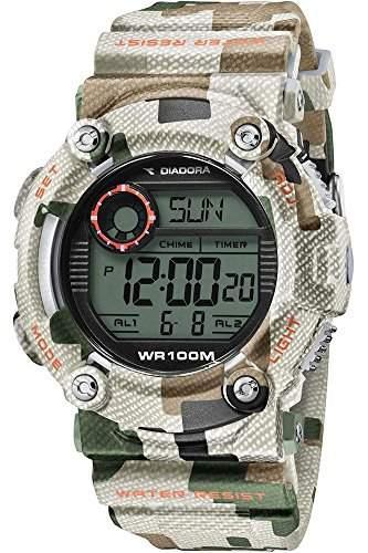 Diadora Herren-Armbanduhr Digital Quarz Plastik DI-017-04