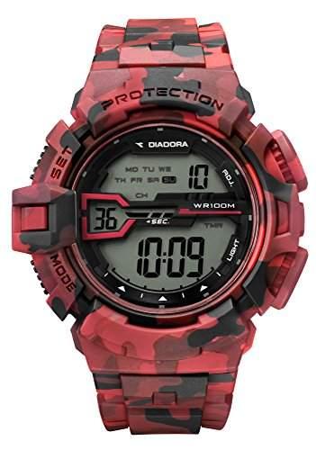 Diadora Herren-Armbanduhr Digital Quarz Plastik DI-022-01