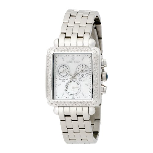Diamond Chronograph Mother of Pearl Dial