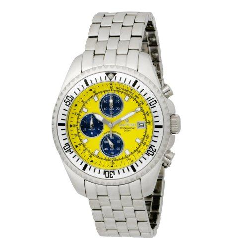 Chronograph Yellow Dial