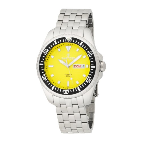 Stainless Steel Yellow Dial