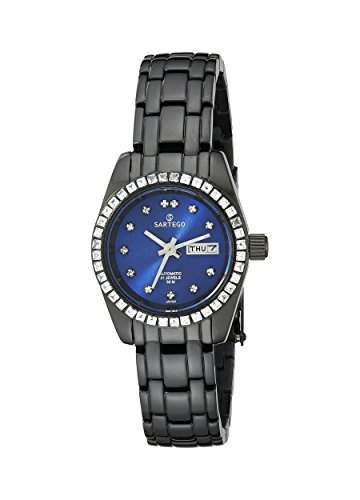 Black Stainless Steel Automatic Blue Dial