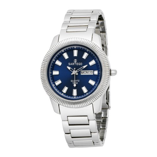 Stainless Steel Dress Blue Dial