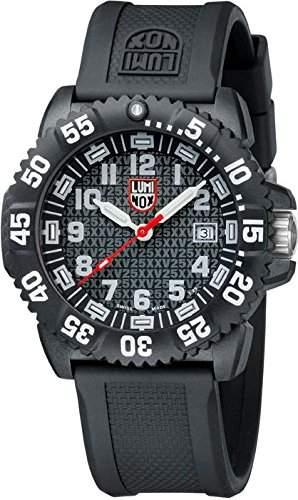 Luminox Herren-Armbanduhr 25TH ANNIVERSARY Analog Quarz Kautschuk 305125TH