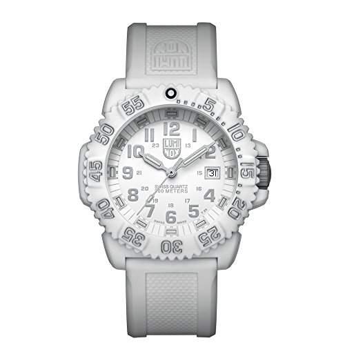 Luminox Unisex-Armbanduhr Analog Quarz Silikon 3057WO