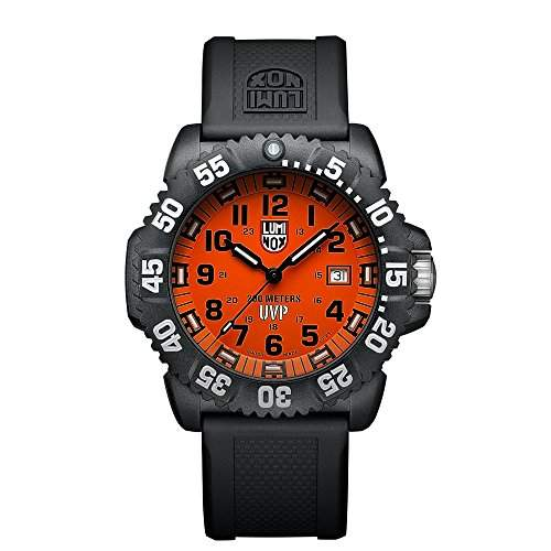 Luminox Herren-Armbanduhr XL Analog Quarz Plastik 3059SET