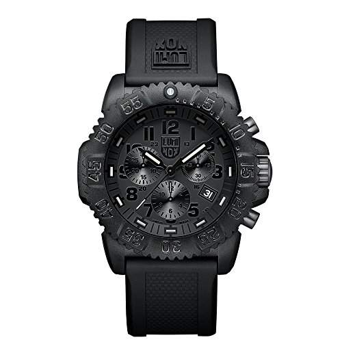 Luminox Herren-Armbanduhr Navy Seal Colormark Chronograph 3081BO