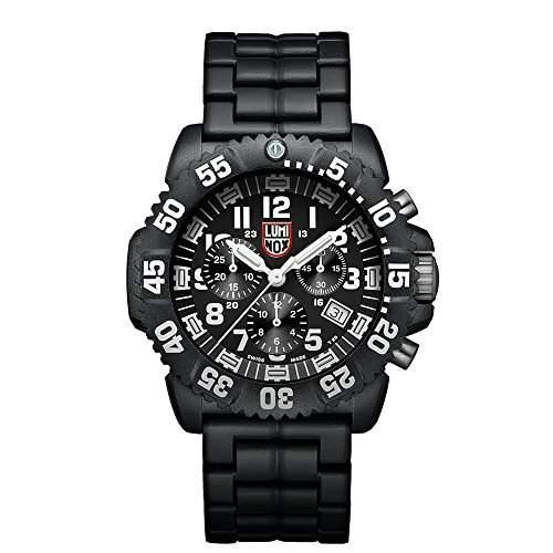 Luminox Herren-Armbanduhr XL Chronograph Quarz Silikon 3082