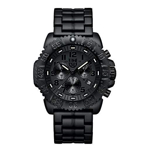 Luminox Herren-Armbanduhr XL Chronograph Quarz Plastik 3082BO