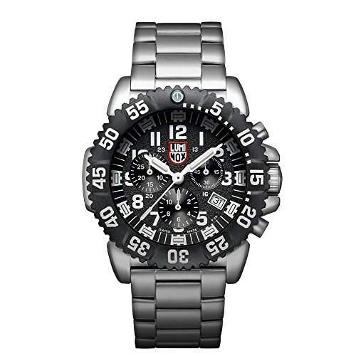 Luminox Herren-Armbanduhr XL Chronograph Quarz Plastik 3182