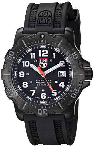 Luminox Herren-Armbanduhr XL Analog Quarz Silikon 4221