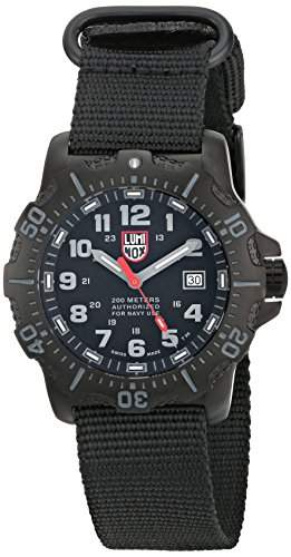 Luminox Herren-Armbanduhr XL Analog Quarz Textil 4221CW