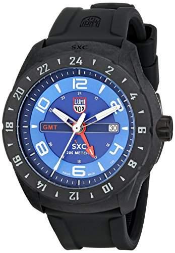 Luminox Herren-Armbanduhr XL Analog Quarz Kautschuk 5023