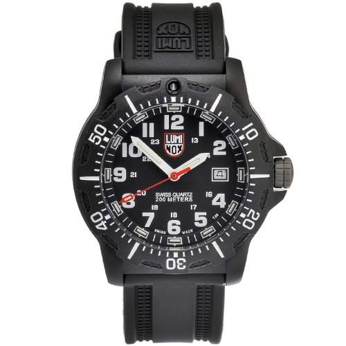 Luminox Herrenuhr LUM NAVY SEAL BLKWHITE A8801
