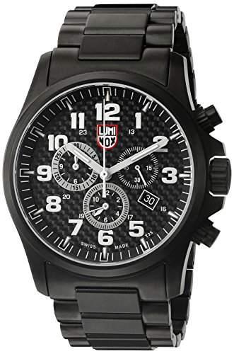 Luminox Herren-Armbanduhr ATACAMA FIELD Chronograph Quarz Edelstahl 1942
