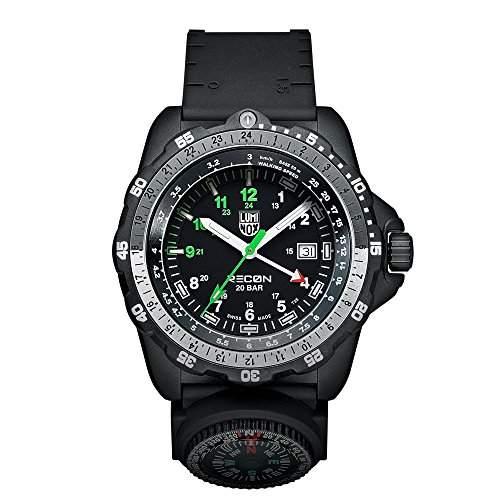 Luminox Herren-Armbanduhr XL Analog Quarz Plastik 8831KM