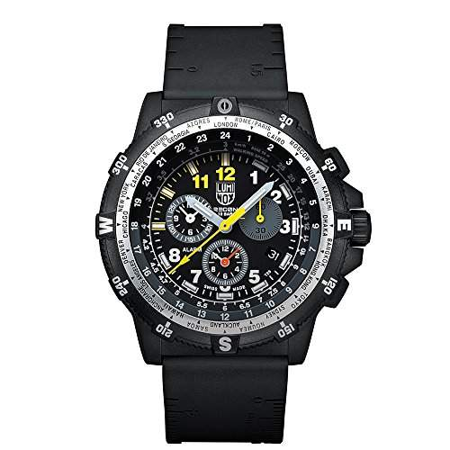 Luminox Herren-Armbanduhr LUM RECON 8840 SERIES Chronograph Quarz Silikon 8841KMSET
