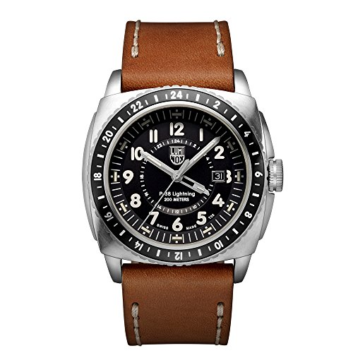 Luminox P 38 LIGHTNING Analog Quarz Leder XA 9427