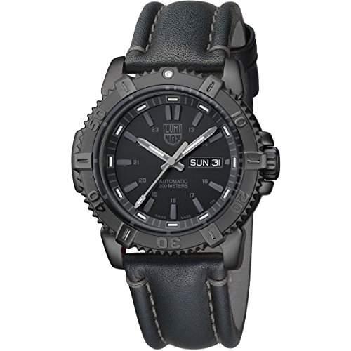 Luminox Herren-Armbanduhr MARINER AUTOMATIC Analog Automatik Leder 6501BO
