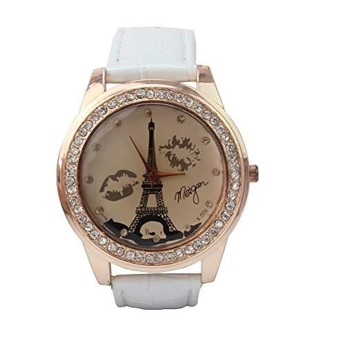 Armbanduhr Damenuhr Quarzduhr PU-Leder Eiffel Strassdeko Damen Armbandschmuck