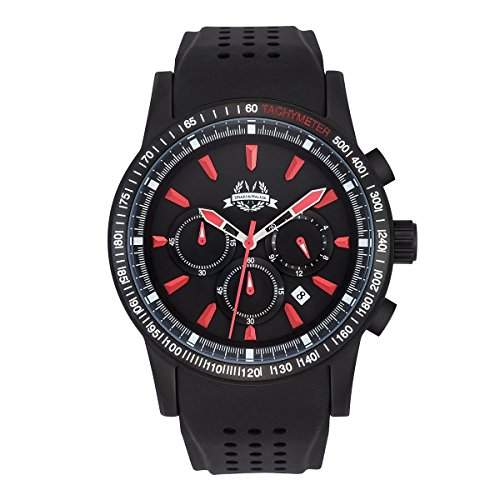 Spears & Walker Herrenuhr Newark 10070010 Chronograph Herrenuhren Armbanduhr Uhren Uhr Armbanduhren Herren