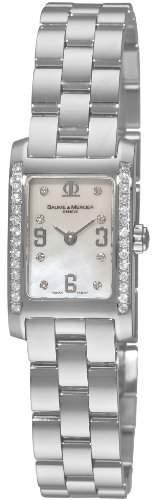 Baume & Mercier Damen 8681 Hampton Mini Diamond Watch