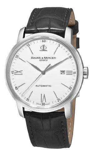 Baume Mercier Herren 8592 Classima Automatische Lederband Armbanduhr
