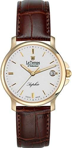 Le Temps Damenuhr, vergoldet Ø 35 mm