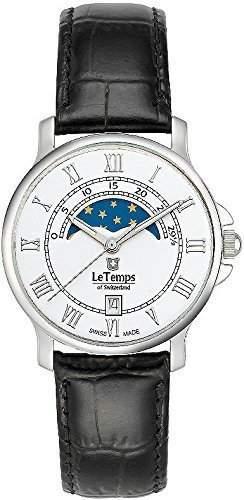 Le Temps Damenuhr, Mondphase Ø 35 mm
