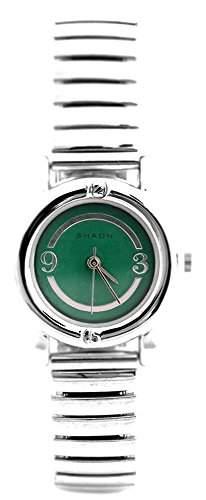 Shaon Damen-Armbanduhr Analog Quarz Edelstahl 22-2102-58