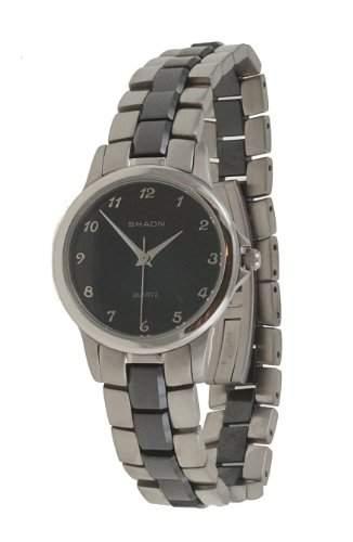 Shaon Damen-Armbanduhr Analog Quarz Edelstahl 32-2154-48