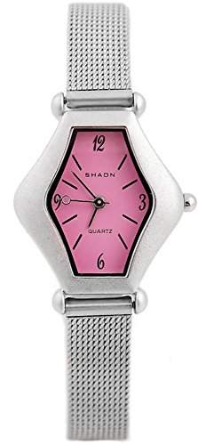 Shaon Damen-Armbanduhr Analog Quarz Edelstahl 36-2000-68