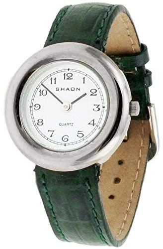 Shaon Damen-Armbanduhr Analog Quarz Leder 38-1000-15